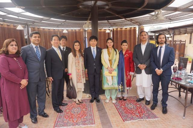 20150309パキスタン出張 パキスタン日本友好議連主催昼食会1