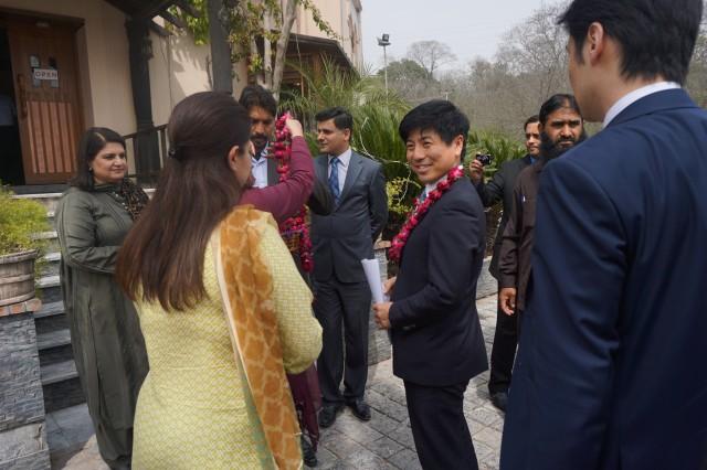 20150309パキスタン出張 パキスタン日本友好議連主催昼食会3