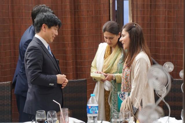 20150309パキスタン出張 パキスタン日本友好議連主催昼食会2