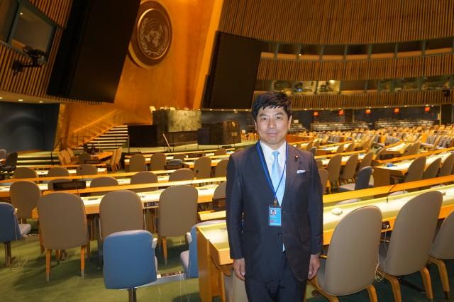 NY国連議場を視察